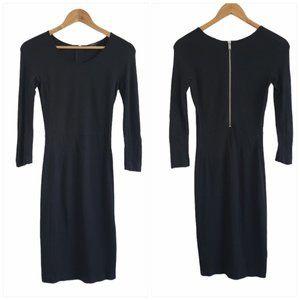 Aritzia Babaton bodycon midi dress blacksize 2